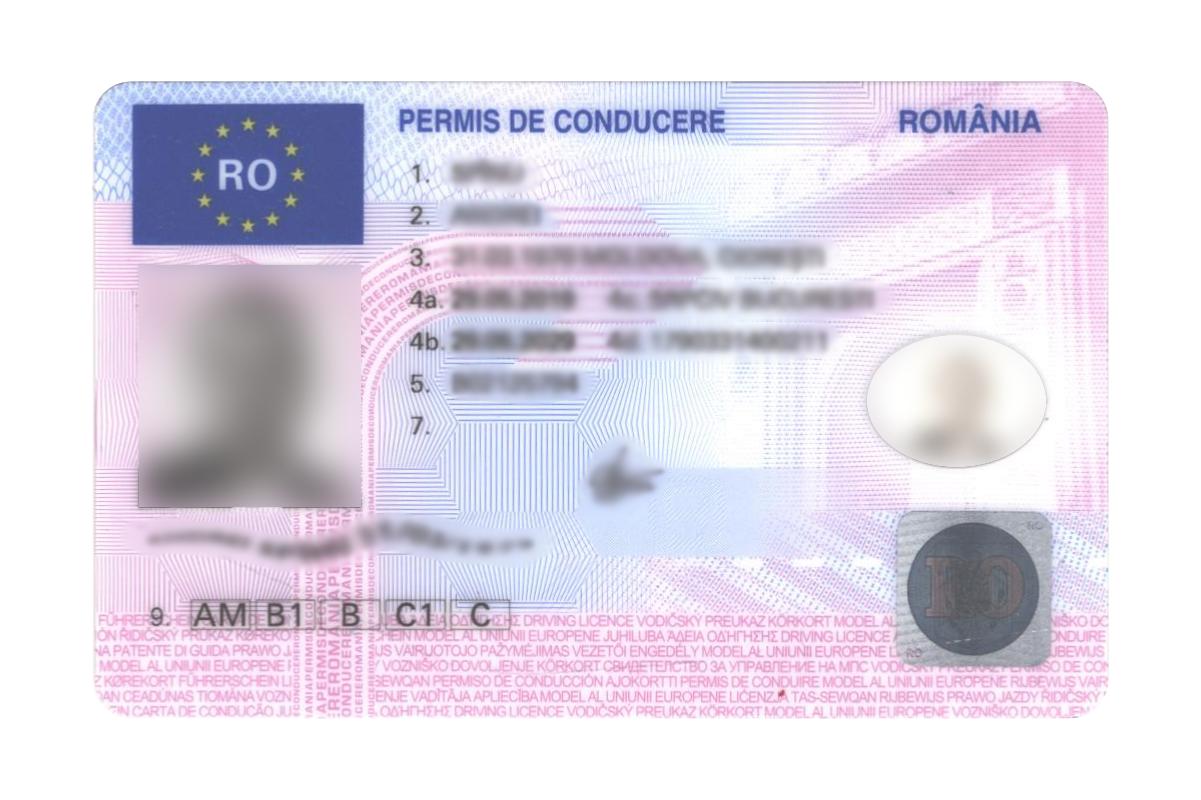 cum se fac bani pentru permisul de conducere